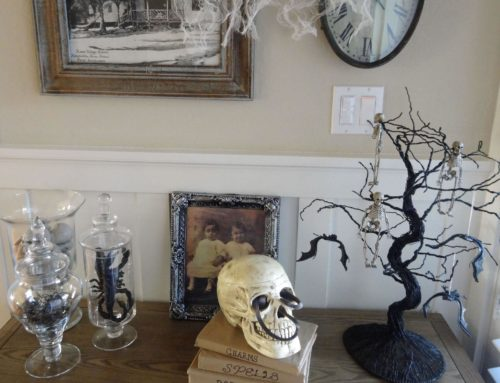 Halloween Entry Makeover