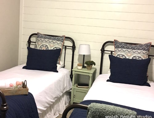 Shiplap for the Guest Bedroom