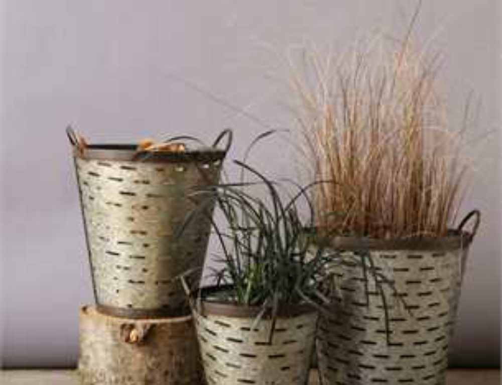 Ways to Use Metal Olive Buckets in Your Farmhouse Decor