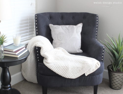 Creating a Cozy Master Bedroom Reading Nook