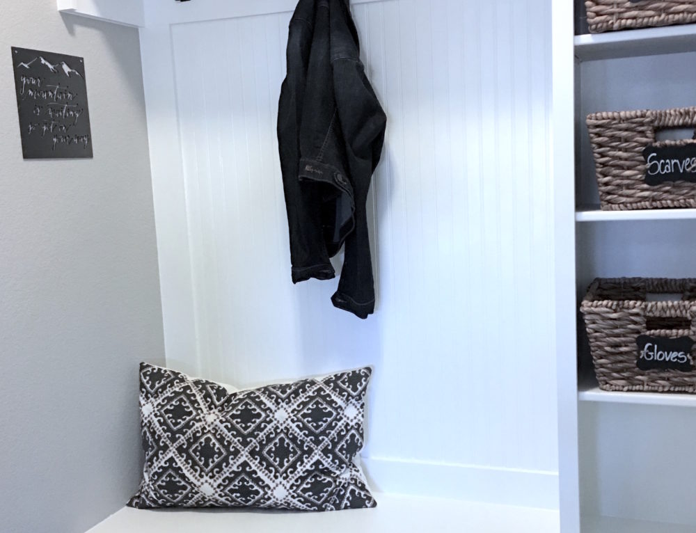 Mudroom Makeover – So Happy with this Functional New Design