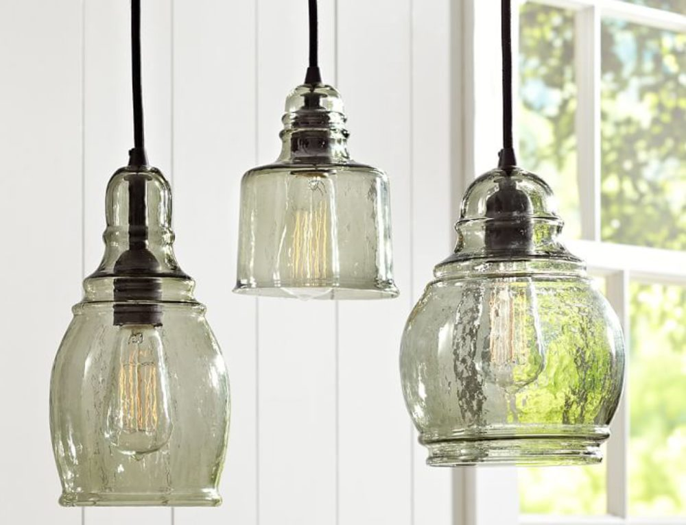 Pendant Lights for an Industrial Farmhouse Kitchen