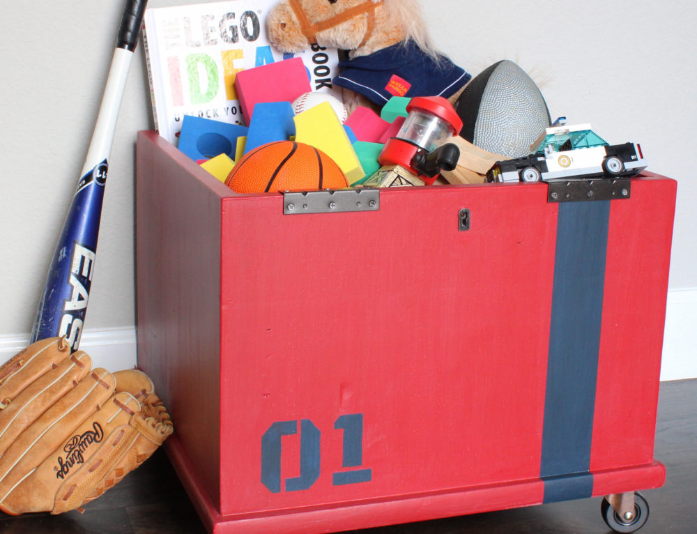 Storage Cube Gets New Life as an Industrial Toy Box