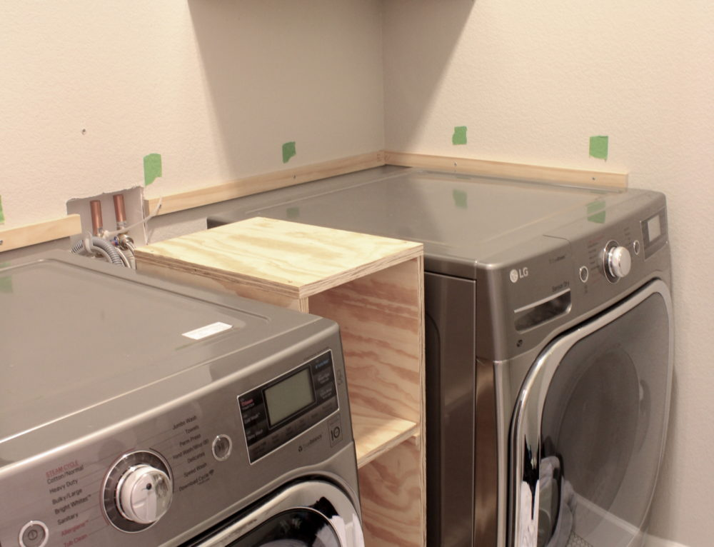 A Quick Laundry Room Progress Update