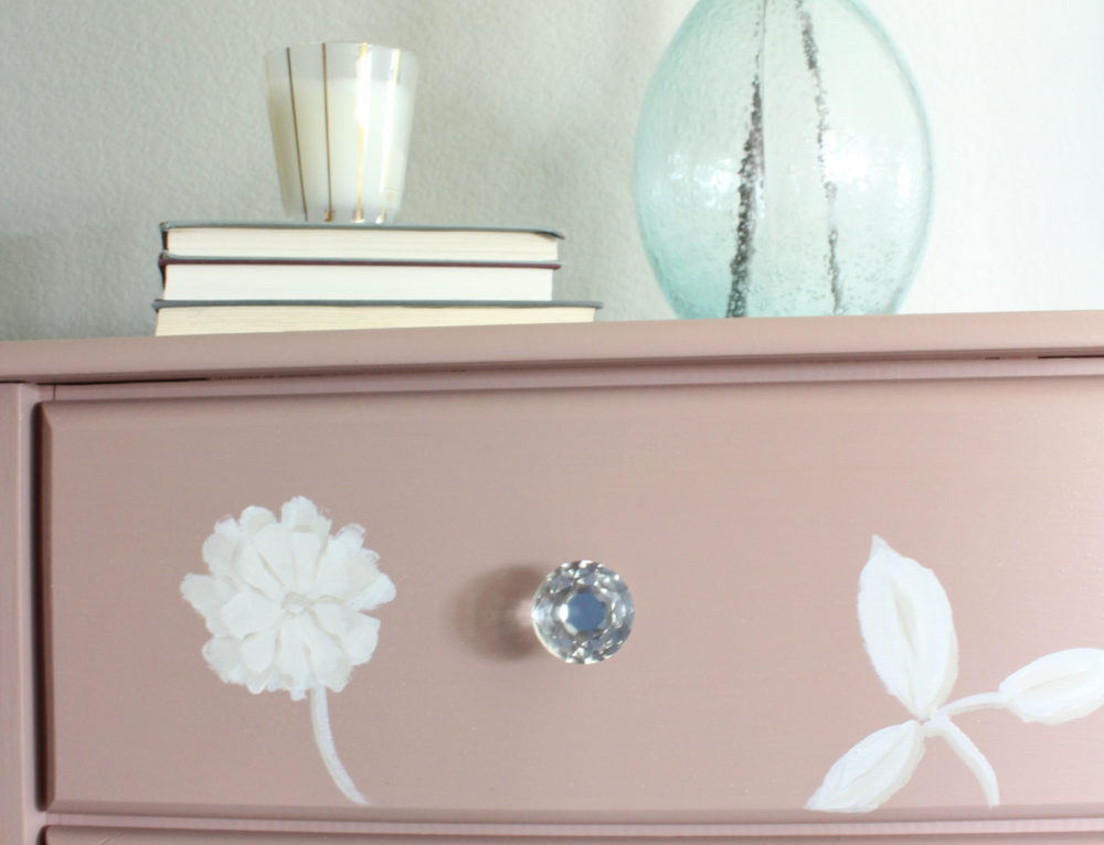 Lackluster Lingerie Chest is Now Pretty in Pink!