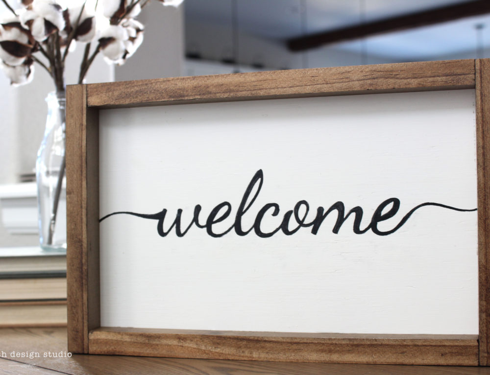 Say Hello to our Welcome Sign Product!