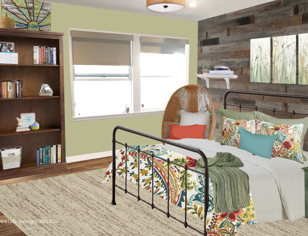 Virtual Room Design – Girl's Room Makeover