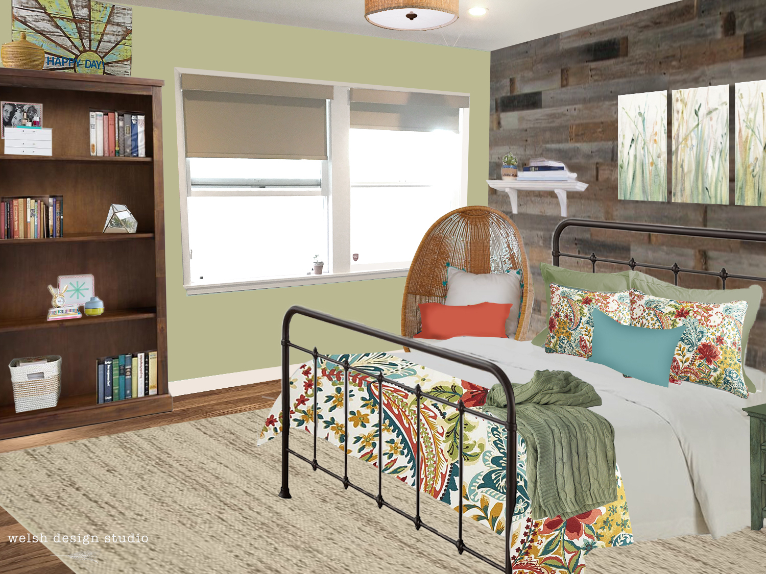 Virtual room design girl 39 s room makeover welsh design for Virtual room decorator
