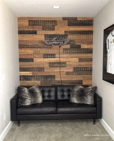 reclaimed wood wall teen boys bedroom