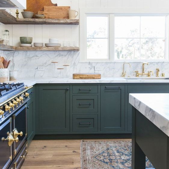 Color Of The Year 2019 Ppg Night Watch 1145 7 Kitchen Cabinet